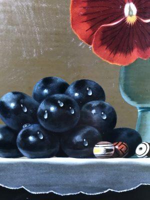 小澤一正 「卓上の静物」 油彩 3号 写実絵画